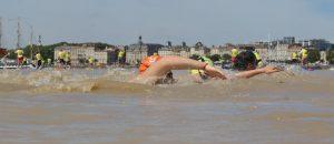Traversé de Bordeaux à la Nage - Waterman - Les marins de la lune