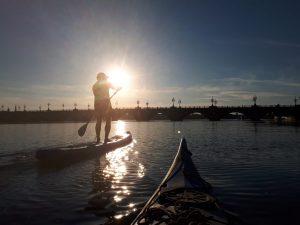 Sortie Loisirs - canoé - Paddle - Les marins de la Lune